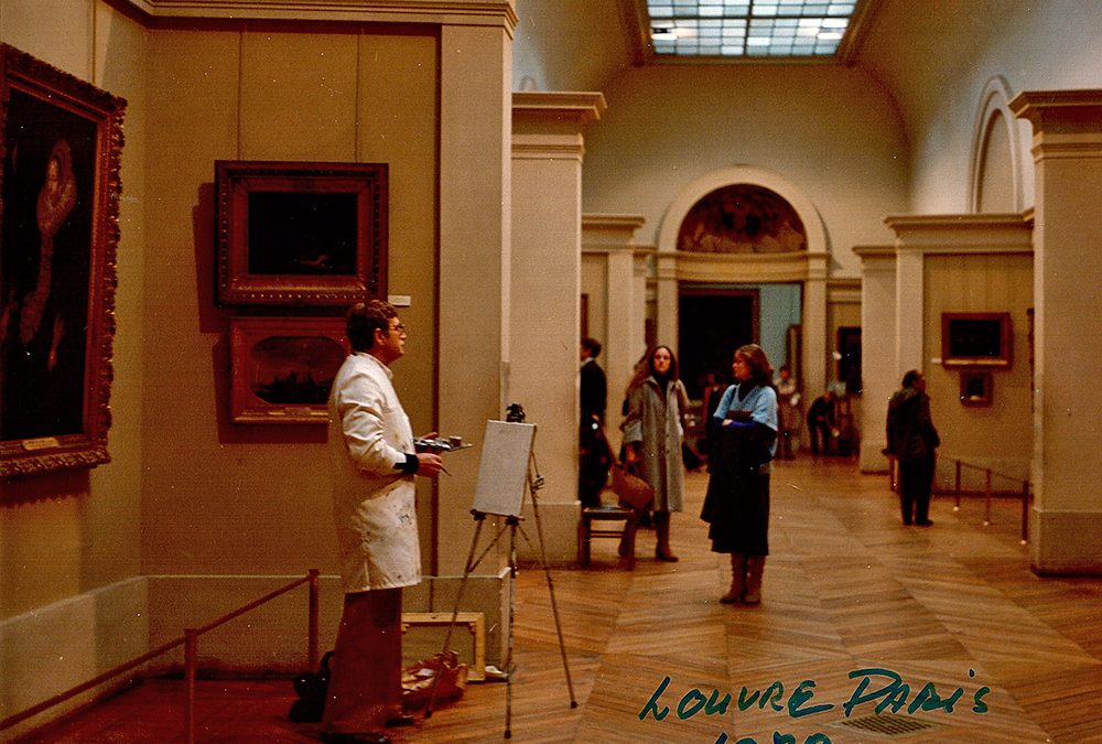 Louvre Paris 1977